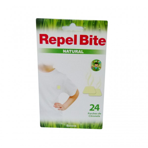 Repel Bite Parches Repelentes 24 unidades