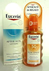 Eucerin Sun Spray Transparente 50 200ml.