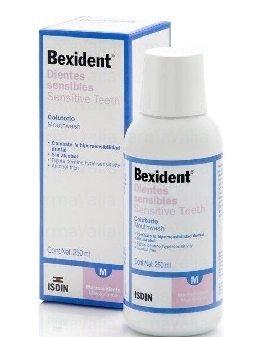Bexident Dientes Sensibles Colutorio 250ml.