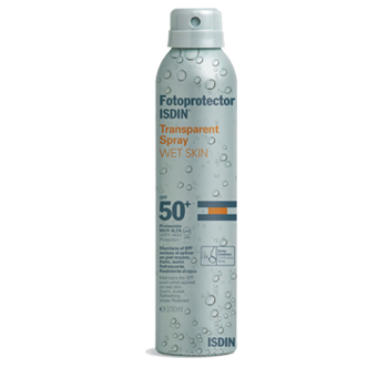 Isdin Fotoprotector Transparent Spray Wet Skin 50+ 200ml.