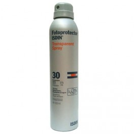 Fotoprotector Isdin Transparent Spray FPS 30 200ml.