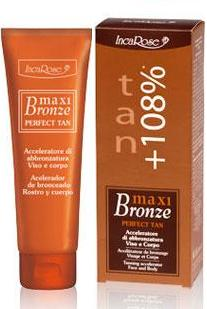 Inca Rose Maxi Bronce Fast spf 0 125ml.