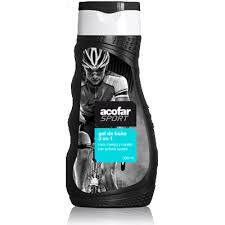ACOFARSPORT GEL DE BAÑO 3 EN 1 300ML
